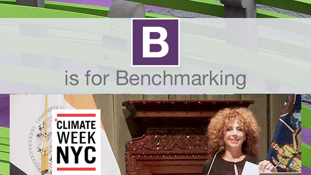 Climate Week NYC Benchmarking Brain Trust Event