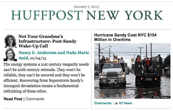 Featured on HuffPo