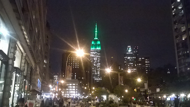 ESB Green for Climate Week Kickoff