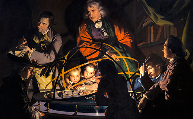 One of Joseph Wright of Derby candlelight masterpieces