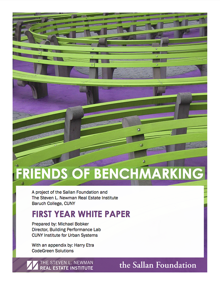 Friends of Benchmarking First Year Whitepaper